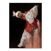 Kazak Dancer Wall Art Print