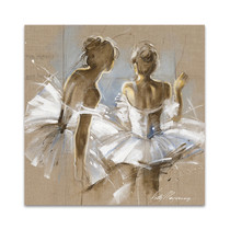 White Dress II Wall Art Print