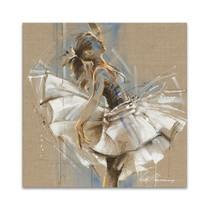 White Dress III Wall Art Print