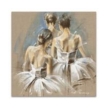 White Dress IV Wall Art Print