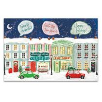 Hometown Holiday I Wall Art Print