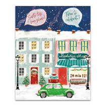 Hometown Holiday II Wall Art Print