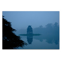 Temple Vietnam Wall Art Print