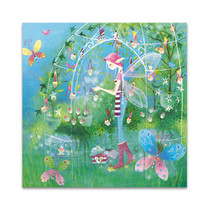 The Fairy Garden Wall Art Print