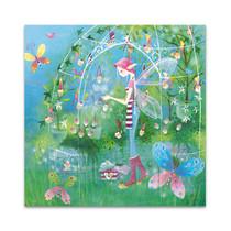 The Fairy Garden Wall Art Print