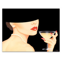 Chic Lady II Wall Art Print