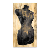 Dress Form Recolor Wall Art Print