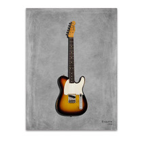 Fender Equire Wall Art Print