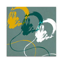 Headphones A Wall Art Print