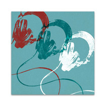Headphones B Wall Art Print