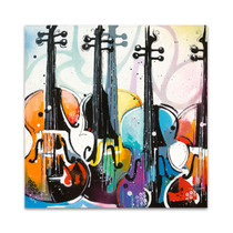 Variation for Violin I Wall Art Print