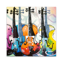 Variation for Violin III Wall Art Print