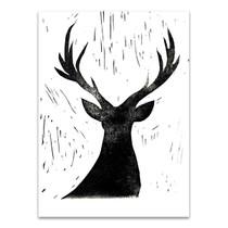 Deer Friend Wall Art Print