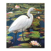 Great Egret Wall Art Print