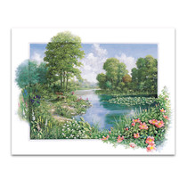 The Pond I Wall Art Print