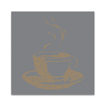 Coffee Talk I Wall Art Print