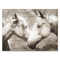 Love Horses Wall Art Print