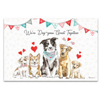Paws of Love I Wall Art Print