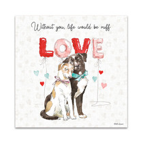 Paws of Love IV Wall Art Print