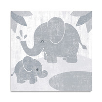 Safari Fun Elephant Wall Art Print