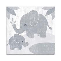 Safari Fun Elephant Wall Art Print