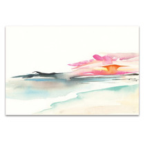 Coastal Sunset Wall Art Print