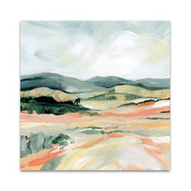 Vermillion Landscape I Wall Art Print