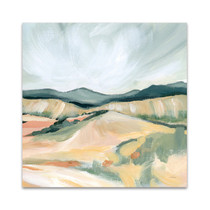 Vermillion Landscape II Wall Art Print