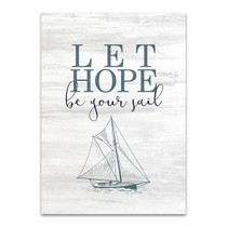 Let Love Hope II Wall Art Print