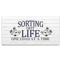 Sorting Out Life Wall Art Print