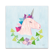 Unicorn Power III Wall Art Print