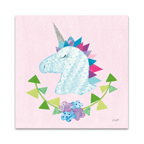 Unicorn Power IV Wall Art Print