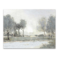 By the Pond I Wall Art Print