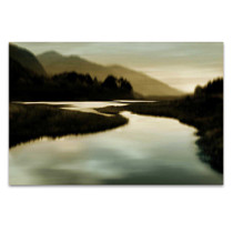 Calm River I Wall Art Print