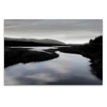 Calm River II Wall Art Print