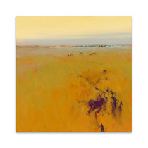 Meadow in Warm Colors Wall Art Print