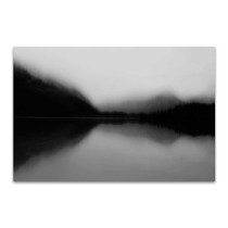 Mist on the Lake Wall Art Print