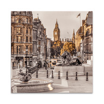 London in Gold Wall Art Print