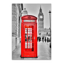 London Phone Wall Art Print