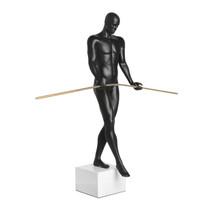 Poly Resin The Balancing Man Matte Black