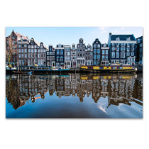 Amsterdam Canals Wall Art Print