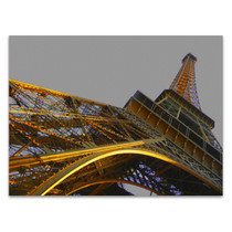 Golden Tower Wall Art Print