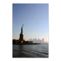 Liberty Leading the City Wall Art Print