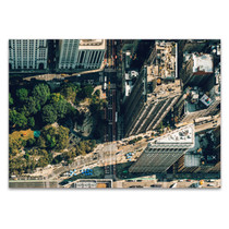 New York Flatiron District Wall Art Print