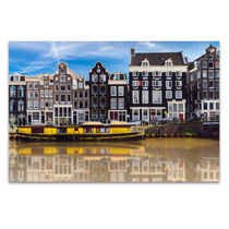 Old Amsterdam Wall Art Print