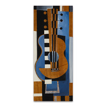 Blues Guitar Wall Art Print