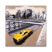 New York Brooklyn Bridge Wall Art Print