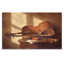 Musical Instruments Wall Art Print
