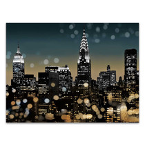 New York Night Wall Art Print