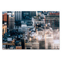 New York Rooftop Wall Art Print